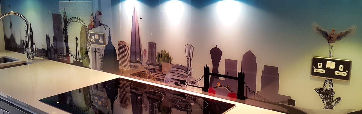 9 Bespoke additions to London with a Twist Glass splashback