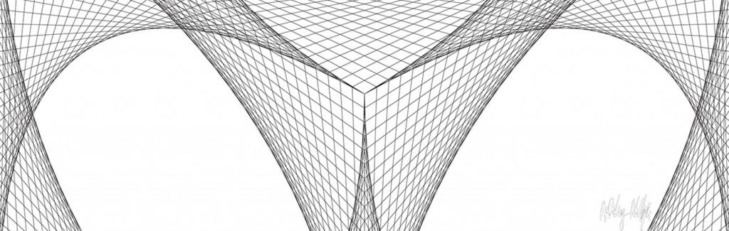 Hexagon craddle Glass Splashback
