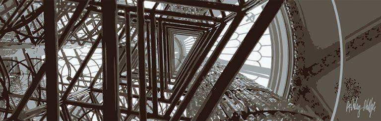 Abstract geometric Ai-Weiwei